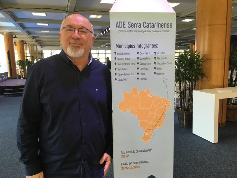 Carlos Eduardo Moreira, líder-articulador do Arranjo de Desenvolvimento da Educação Serra Catarinense