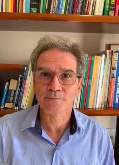 O secretário de Educação de Águas Mornas (SC), Mário Fernandes
